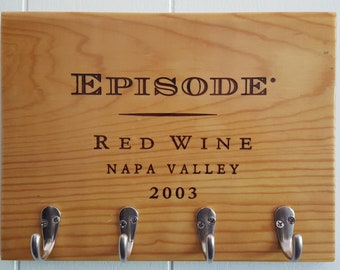 Napa Valley Wine Box Key Holder
