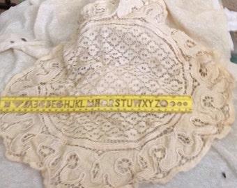 Vintage Crocheted Round Dollie