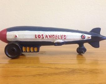 Heavy metal Zeppelin Toy:  USS Los Angeles (ZR-3)