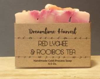Red Lychee & Rooibos Tea Soap