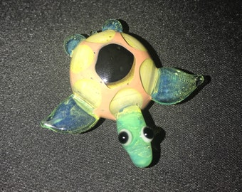 Colorful Turtle Pendent