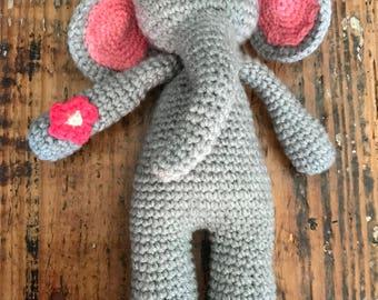 Amigurumi Elephant Stuffy