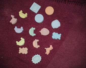Tiny miniatures sidewalk chalk 25 pcs for party favors and kids