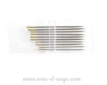 1 sewing needle handmade 38mm tip