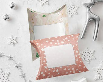 Instant download, Christmas pillow boxes_small