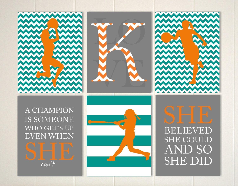 Motivational sports quotes art girls basketball art softball  Motivational sp...