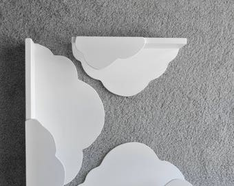 White Cloud Shelf hand made for children's and babies' room