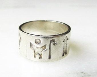 Irish Story Teller Sterling Silver Ring