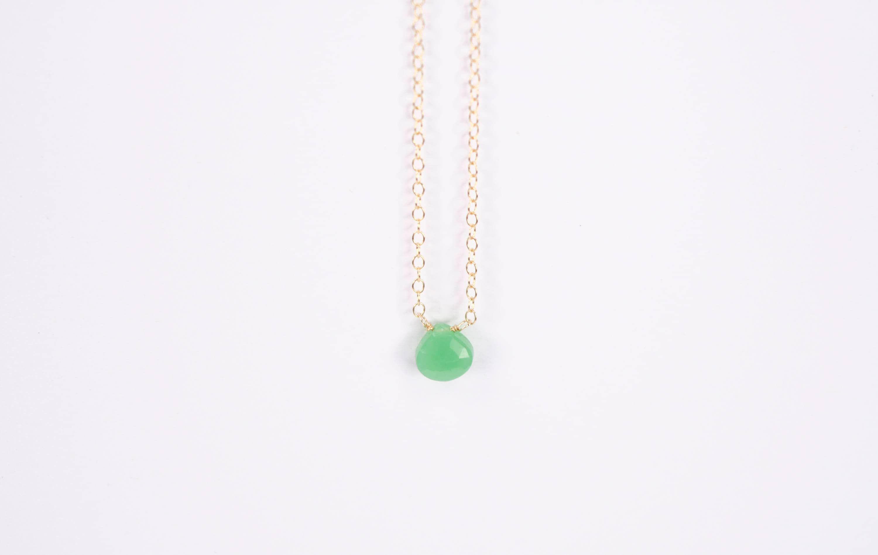 and skadegard peridot lena chrysoprase necklace ls in turquoise zoom product