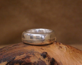 Vintage Tiffany and Co.  Sterling Silver Ring Size 7.5