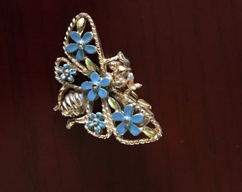 Vintage Butterfly Clip