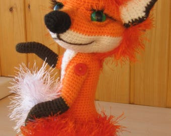 PATTERN: Lisaveta The Fox crochet pattern
