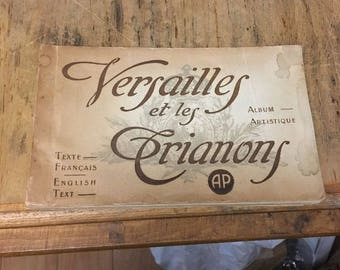Versailles et les Trianons, Vintage photobook  of Versailles/Trianons  France, Circa 1920s,