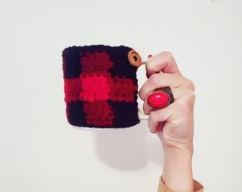 Plaid Mug Cozy
