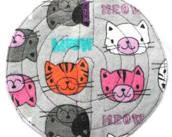 Fabric grounding maze for stimming and self-soothing-KITTIES