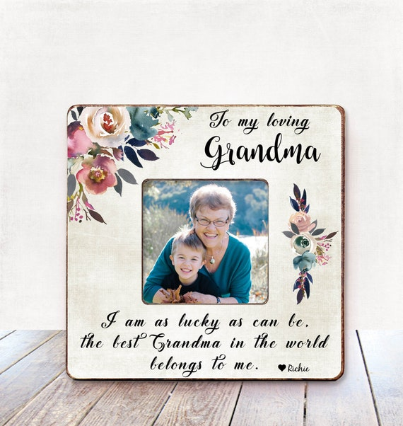 Mothers Day Gift for Grandma Mother\'s Day Frame Nana Gift ...