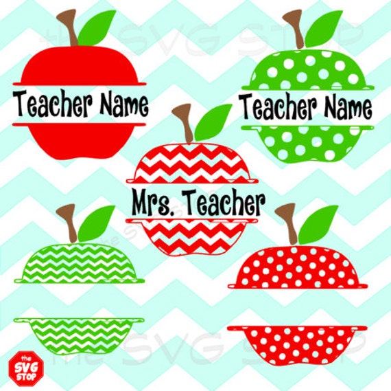 Split Apples Svg And Studio Files For Cricut Silhouette