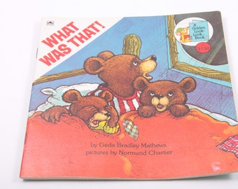What Was That! - Geda Mathews - Children's Book - Vintage - Life Lessons ~ The Pink Room ~ 161002A