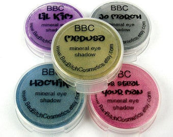 SAMPLE Choose 5 - BBC Mineral Eyeshadows