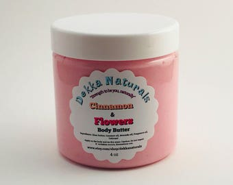 Cinnamon & Flowers Body Butter