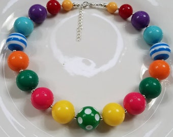 Happy Day chunky necklace