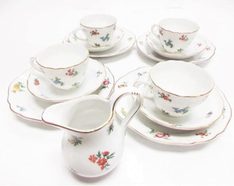MIRABELL — 13 pc Germany Hutschenreuther 1814 Coffee Settings