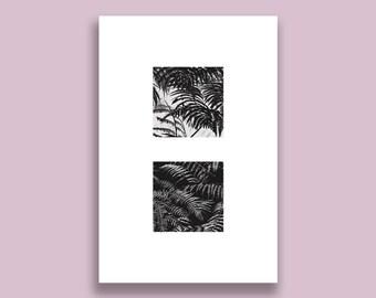 Minimalism Botanical Print 32 - Digital Download, Abstract Nature Artwork, Minimalist Aesthetic Design, Black & White, Printable Wall Art