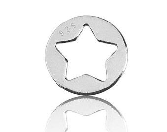 Charm Star Sterling Silver 925
