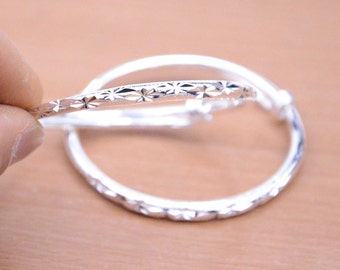 2pcs thin  silver bangles supplies.silver plated bracelets,shiny silver alloy bangles,Solid adjustable bracelets