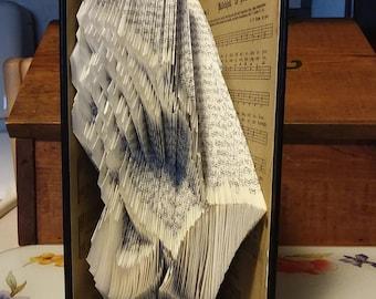 Praying Hands Folded Book Art