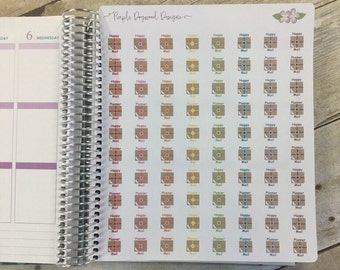 Happy Mail/Planner Mail Stickers