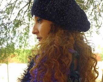Stevie Nicks Renaissance Style Beret Hat