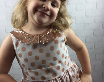 Rose Gold Party Dress!