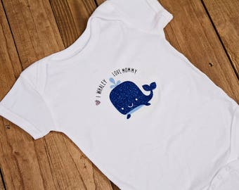 I Whaley Love Mommy One-Piece
