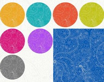 Alison Glass - Fat Quarter bundle in Depths - Sunprint 2018 - 9 Prints
