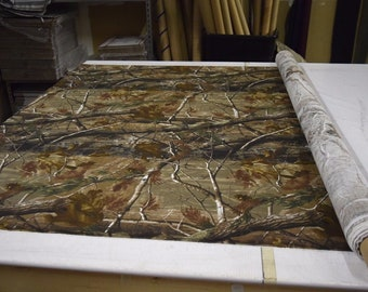 """Realtree AP 100% Cotton Sheeting Hunting Camouflage Fabric 59"""" Wide By The Yard 36"""" Long"""