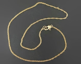 Bronze Rope chain made to order