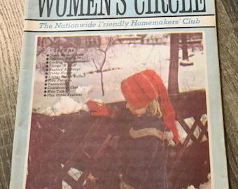 Vintage February 1970 Women's Circle Magazine