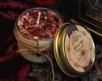 Blood Lust Ritual Candle
