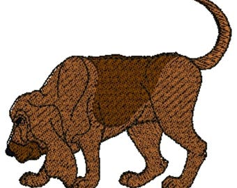 Bloodhound Dog Embroidered Towels, Dog Towels, Personalised Towels, Bloodhound 4