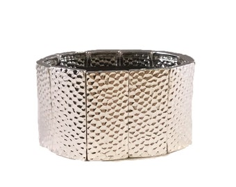 FitBit Flex Cover Bracelet: Hammersmith in Bright Silver