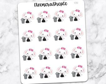 TROW TRASH Stickers — 1051
