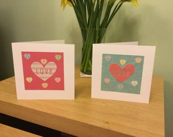 Love Heart Cards