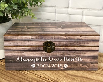 Pet Loss| Pet Keepsake Box| Dog Urn| Personalized Pet Loss| Pet Memorial Box| Keepsake Box| Personalized Dog Loss| Dog Gift