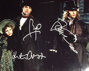 INTERVIEW with the VAMPIRE main cast Autographed Photograph with COA