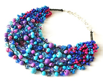 kama4you 2620 necklace crocheted