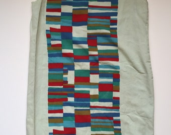 Radical Rectangle Dress - Size Xs Small - Handmade Dress - Vintage Shift Dress - Pillowcase Dress - Summer Dress - Festival Dress