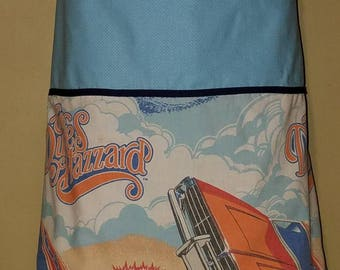 Vintage Dukes of Hazzard Reversible Apron Style Skirt