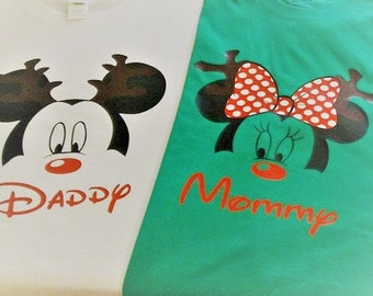 Disney Christmas Family shirts, Disney Family shirts, Disney holiday shirt, Disney matching shirts, Mickey Christmas, Minnie Christmas
