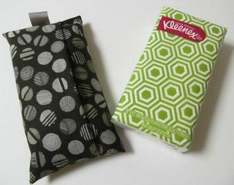 Tissue Case/Gray Dot